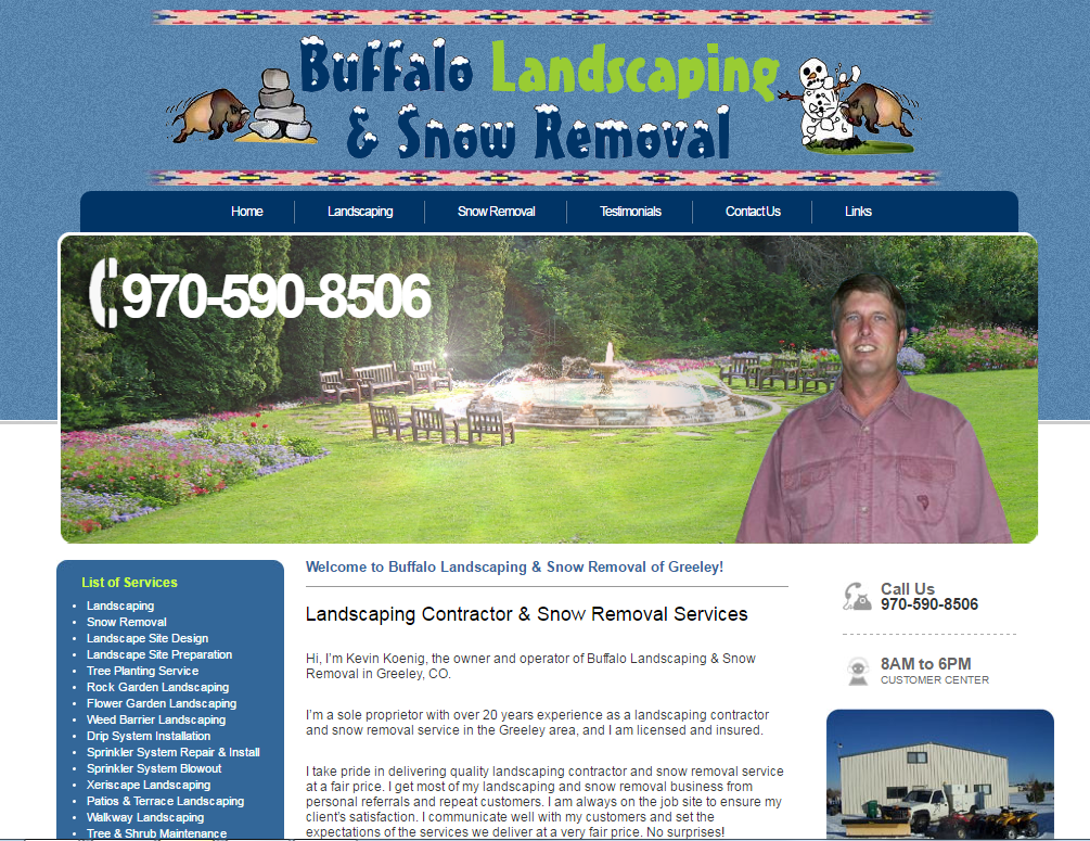 Buffalo Landscaping and Snow Removal