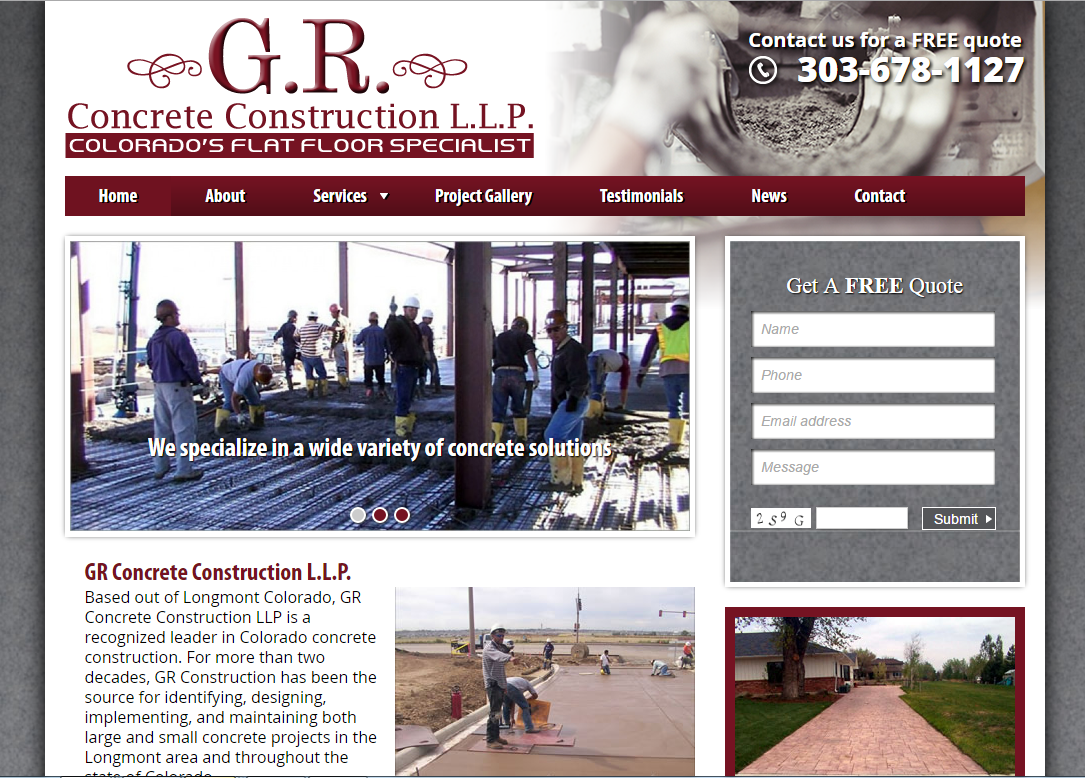 GR Concrete Construction LLP