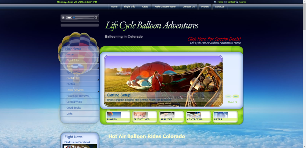 Lifecycle Balloons