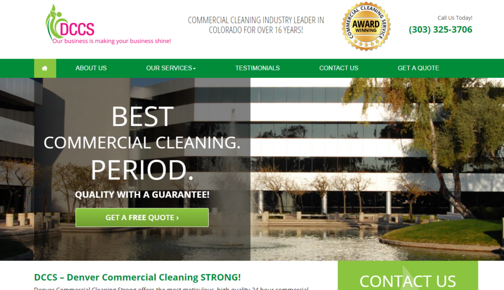 Denver Commercial Cleaning Strong